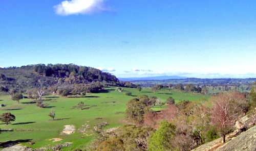 The Strathbogie Ranges