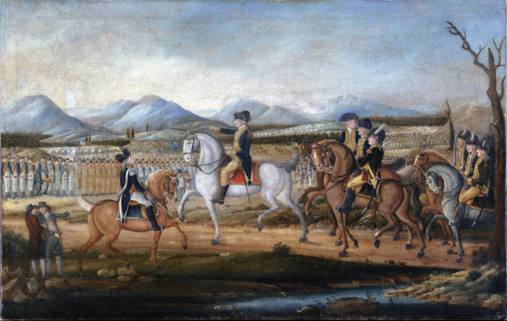 October, 1794.    For the first time in U.S. history, federal troops march in to quell an American rebellion — opposition to the Liquor Tax. That was the...   Whiskey Rebellion.