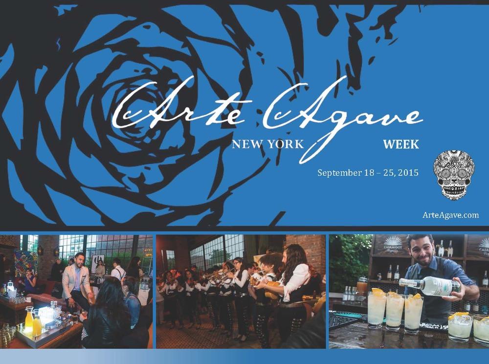 ARTE AGAVE WEEK, SEPT. 18 -25, 2015