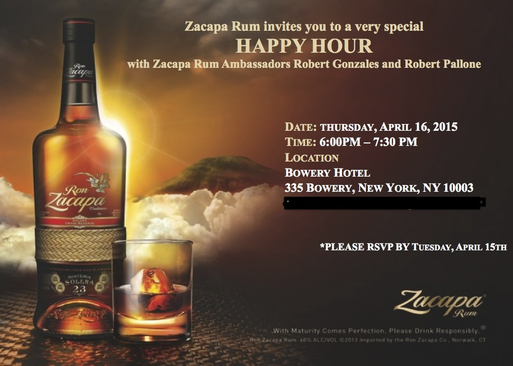 Zacapa SoCal Blitz Happy Hour 4.6.15[1]
