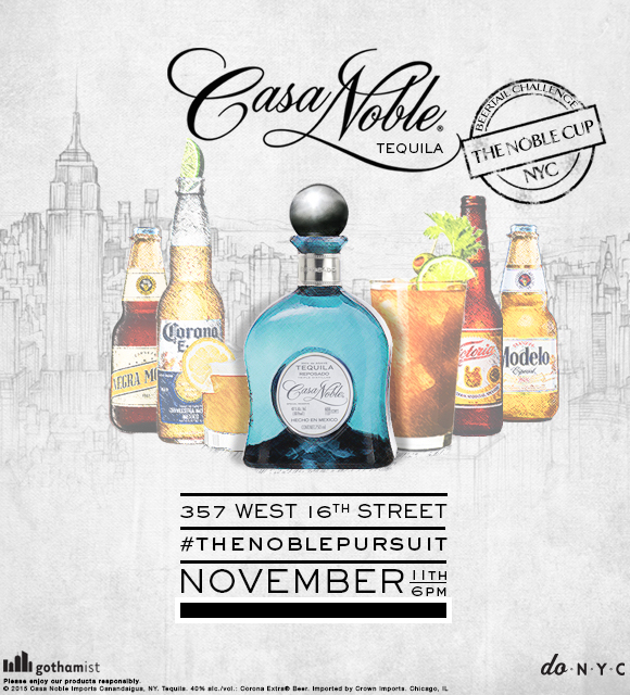 Please enjoy our products responsibly.   © 2015 Casa Noble Imports Canandaigua, NY. Tequila. 40% alc./vol.: Corona Extra® Beer. Imported by Crown Imports. Chicago, IL