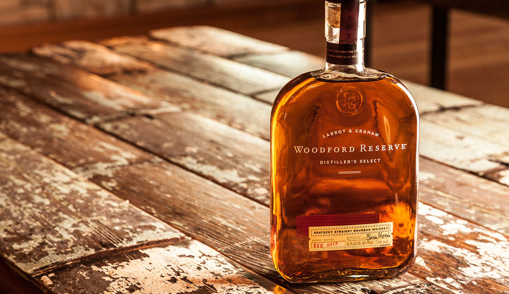 with   Woodford Reserve