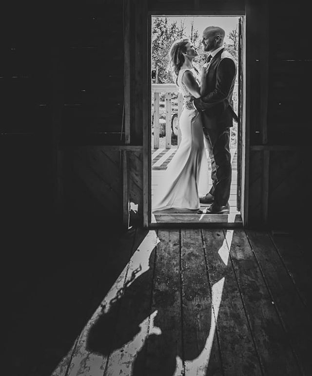 Amazing light for an amazing couple! Such a great day. #yegwedding