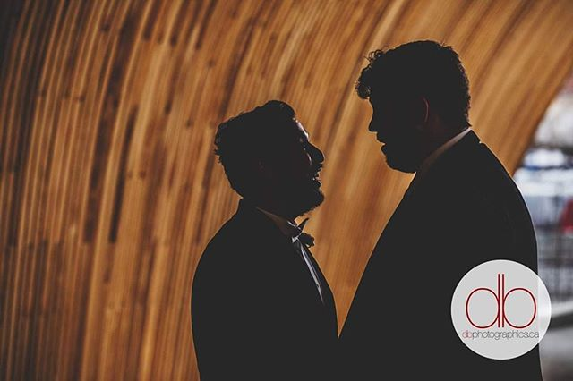 What a way to end the year! We were honoured to be a part of this historic, Alberta wedding. Congrats Chris & Ricardo! #yycweddings #loveislove #lovewins