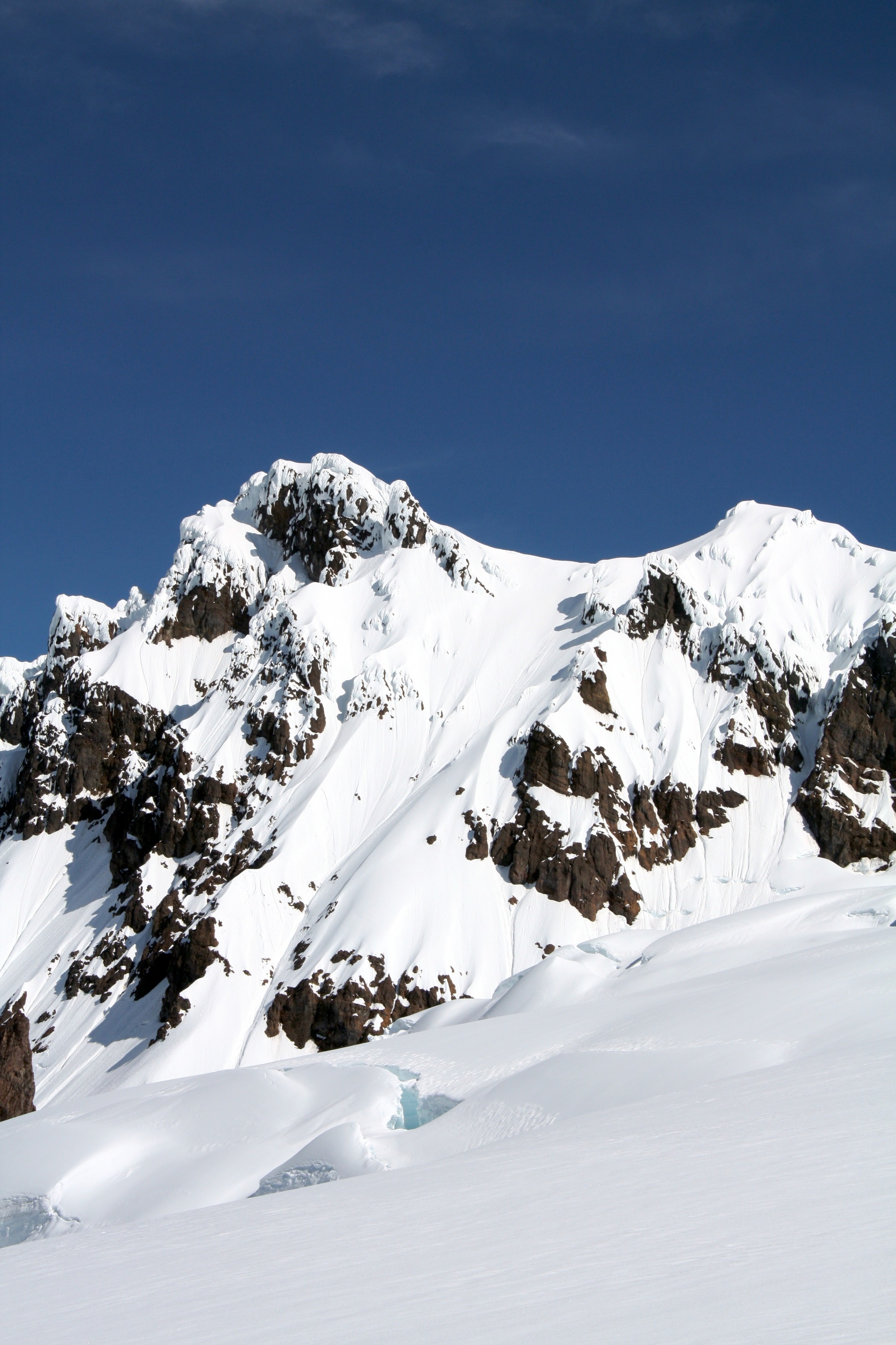 South couloir on Colfax peak