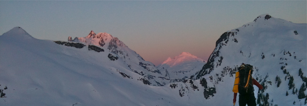 Shuksan and Baker from the Nooksack-Chilliwack divide