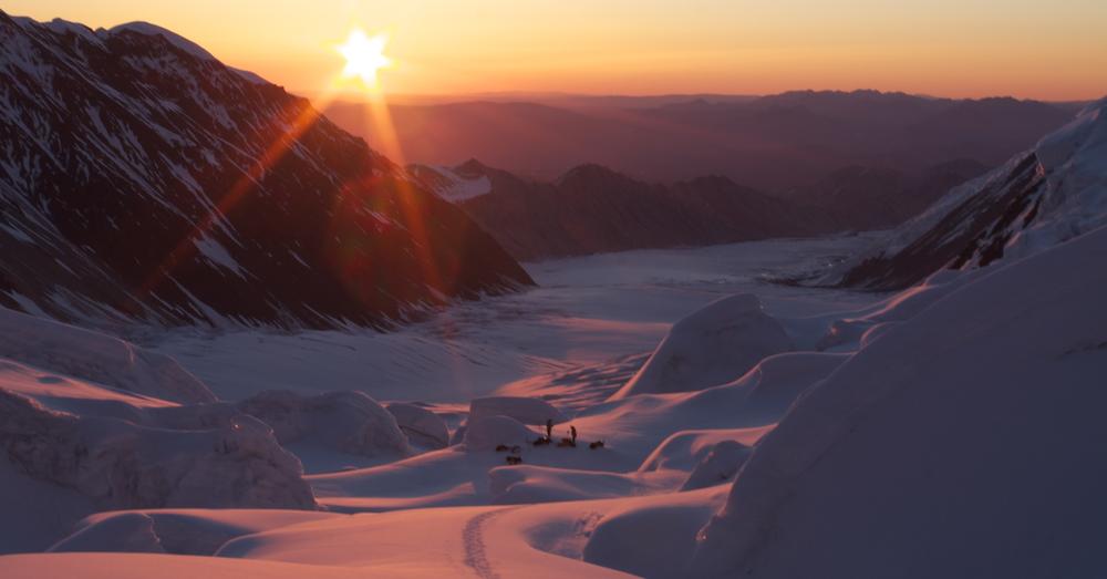 sunrise on the night shift