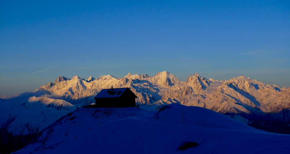 Day 3: Sunrise at the Mont Fort Hut