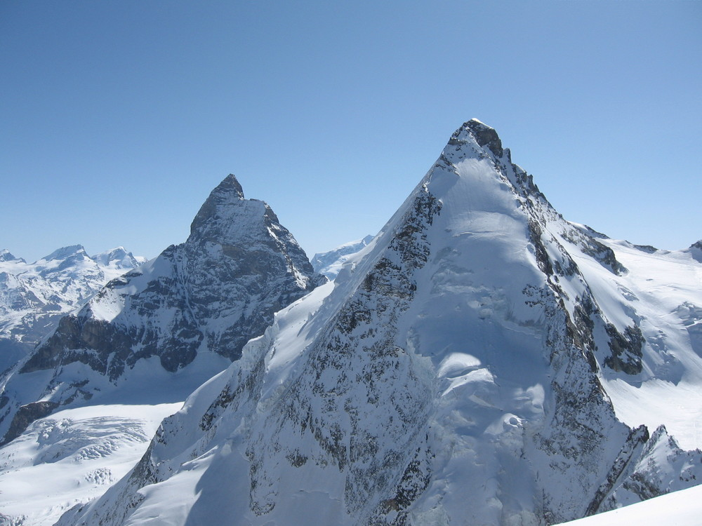 Day 6: The Dent d'Herens and the Matterhorn