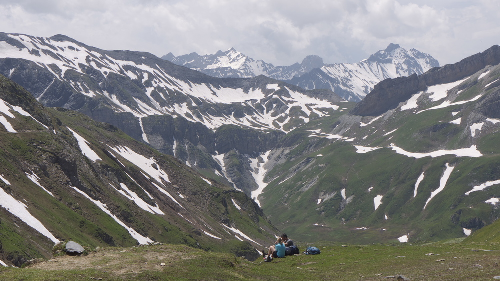 The Col du Bonhomme sits near the heart of the Reserve Naturel des Contamines-Montjoie.