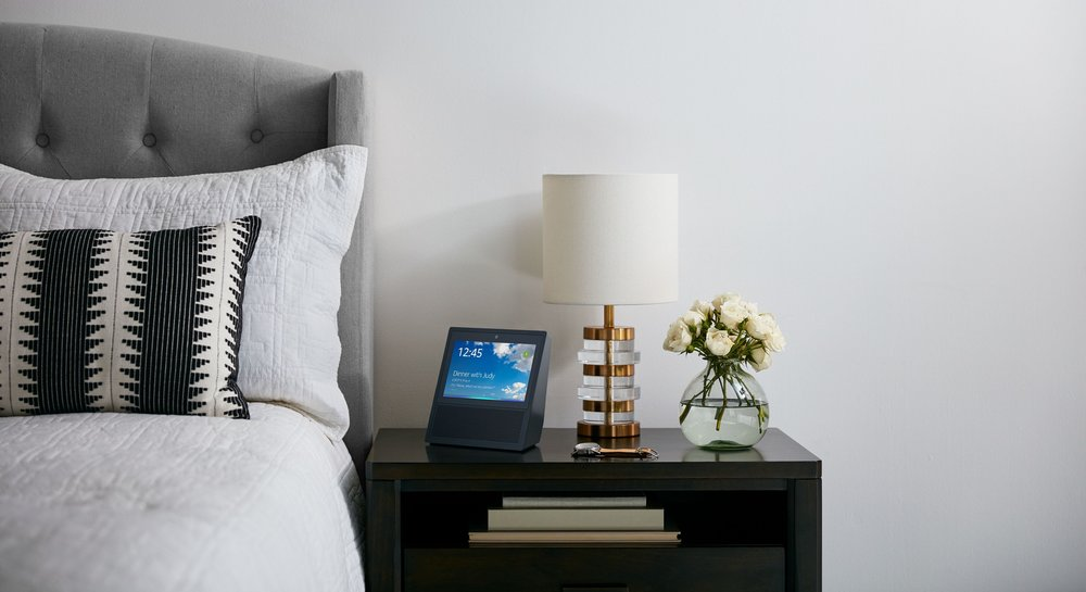 Amazon Echo Show, Black, Night Stand.jpg