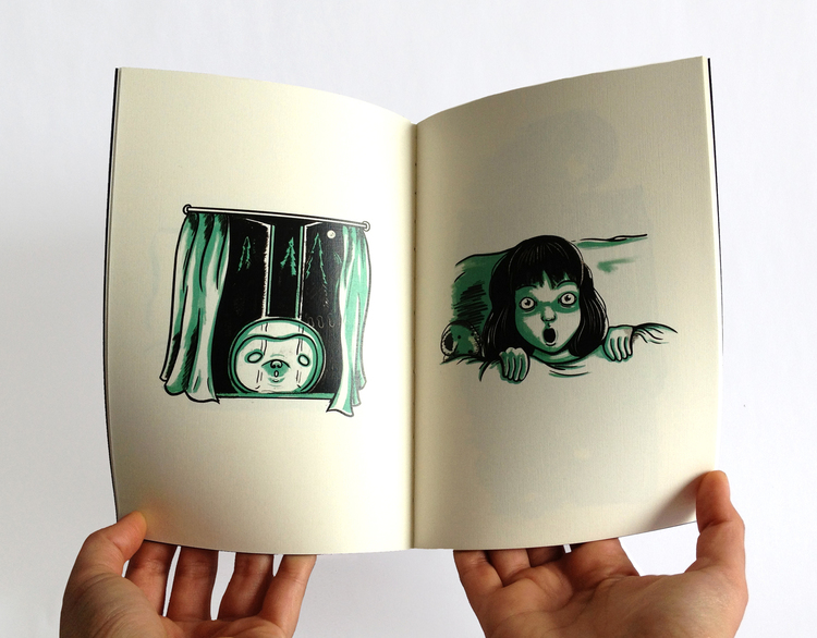 The Incredibly Slow Haunting of Ghost Sloth, Limited Edition book