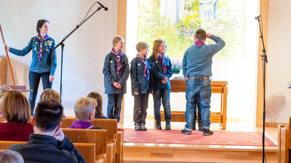 Scoutinvigning
