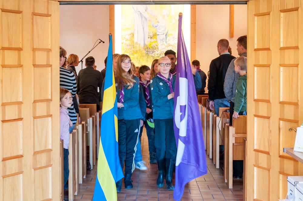 Uttåg ur kyrkan