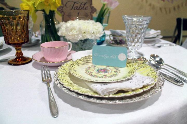 Angie hunts for unique dishes with a passion, all for the sole purpose of giving your wedding or event that unique touch.  From classic vintage to country chic,  The Vintage Dish  has what you need for that party of 2 or 200.   Stop by South Side on Lamar on 10/6 to get your fix!