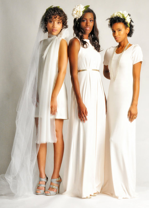 If you were at the last show, then you know that  Ruby Charles by Ruqaiyah Johnson  was a hit!  If you did miss it, no need to fret because Johnson is back with her ultra-cool wedding dress collection in a can't-miss fashion show!  The show takes place at 12:00pm and 1:30pm in the Janette Kennedy Gallery.     (Source:   Sederrick Raphiel  )