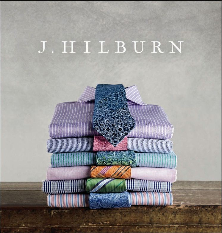 Here's a little something for the fellas!  Dallas based  J. Hilburn  will be at The Swoon Event showcasing its line of custom menswear.  When you book an appointment with stylist Kim Barnes, she'll drop by your humble abode to take your groom + co.'s measurements to ensure a perfect fit on the big day.     Pssst…  It took home the prize for Best Dress Shirt by Esquire Magazine.