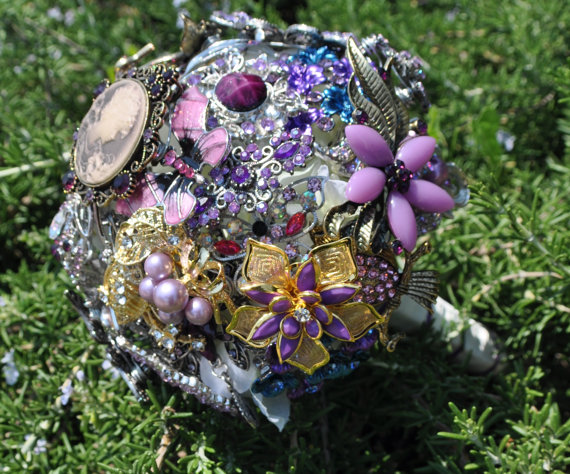 All But Flowers  is back! Handmade brooch bouquets are Andrea's specialty, and she'll have them on full display on October 6th at  The Swoon Event !