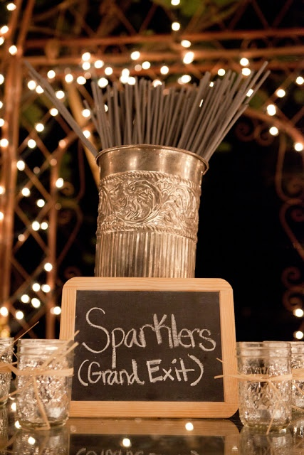 sparklers :: grand exit display