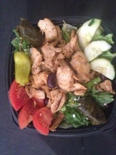 Mr. Gyros salad