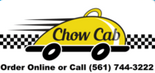 Delivery for Jupiter area  available through  ChowCab.com  561-744-3222
