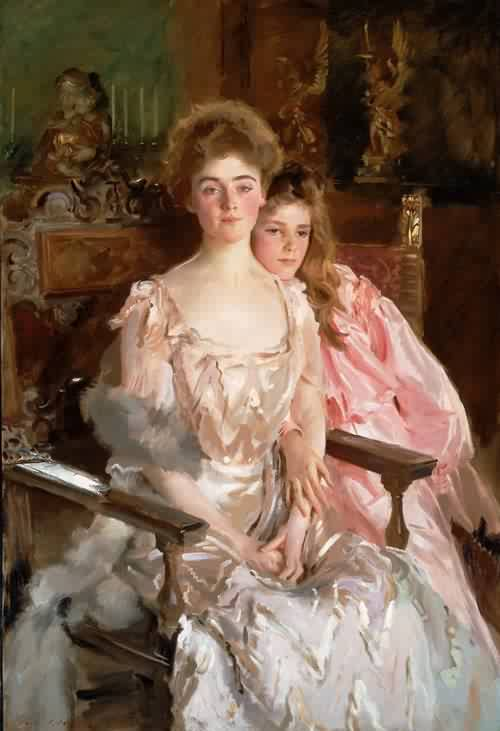 John-Singer-Sargent-xx-Mrs-Fiske-Warren-Gretchen-Osgood-and-Her-Daughter-Rachel-1903