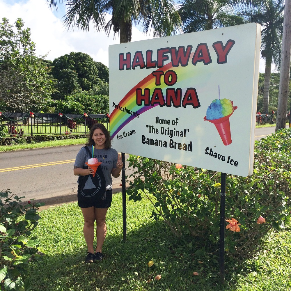 Halfway to Hana.