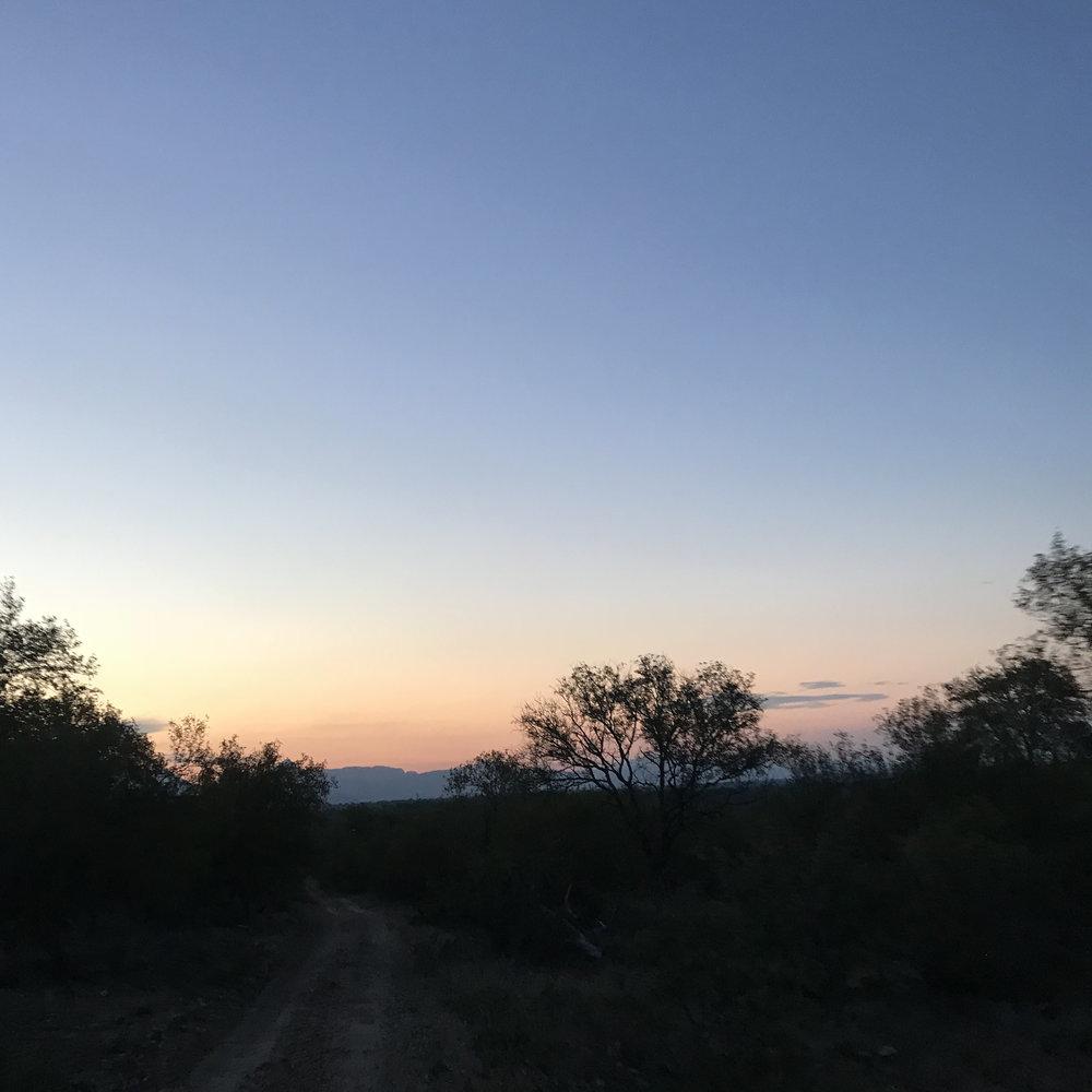 Sunset at Karongwe