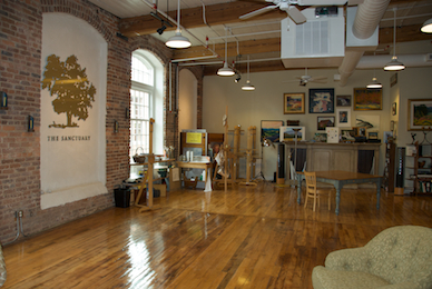 The Sanctuary of Greensboro, a creative center