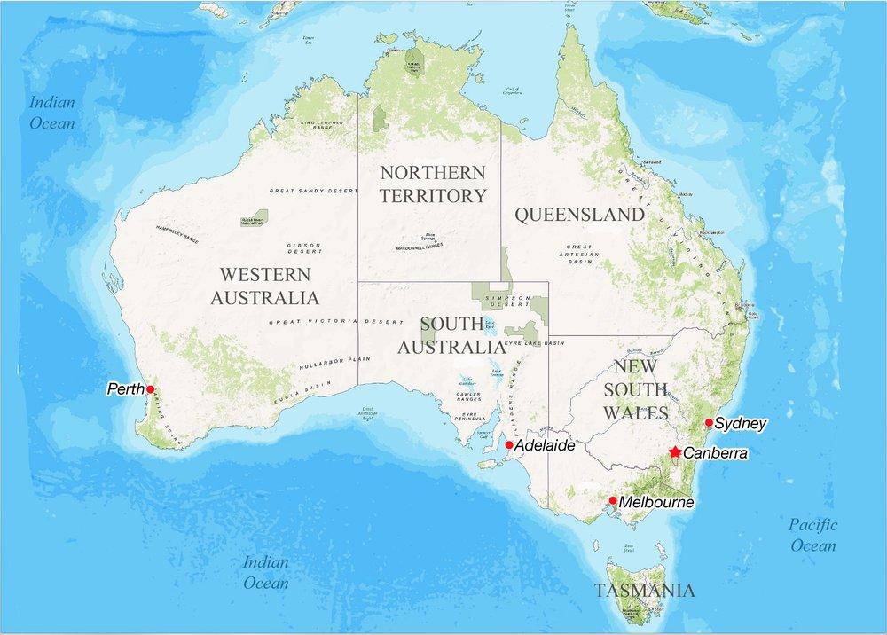 Australia - Regions