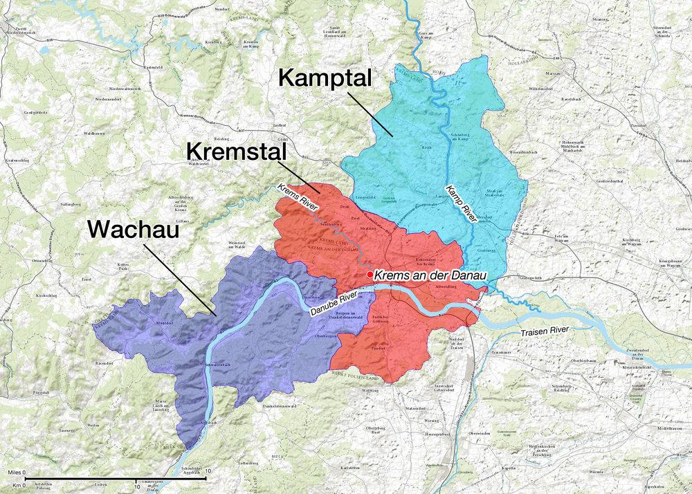 Austria - Wachau, Kremstal and Kamptal