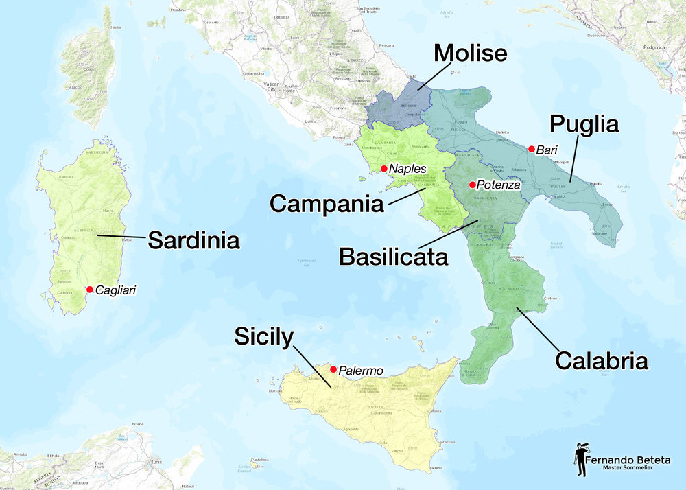 Italy - South and Islands
