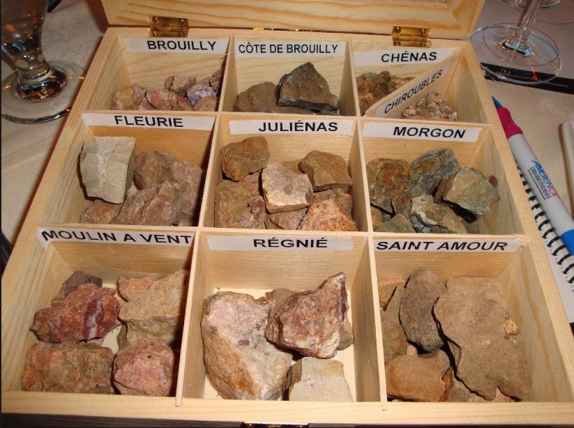 Cru Beaujolais: Various Granite