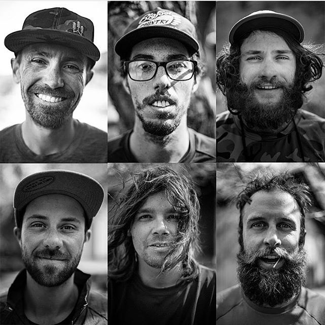 The Last Hill; Until The Next One crew portraits about 1 week into the journey. We hope you got out to see film on the west coast- next week @a_maxhammer will be showing the film on the East Coast at a handful of @patagonia stores! | photo: @andrew_miller | #thelasthill #jive395