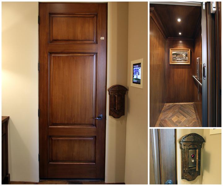 Custom Elevator Trim and Door