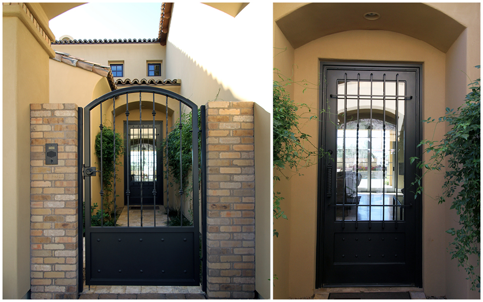 Bon VPR Vista Model Front Gate And Door