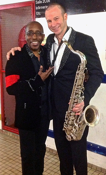 The legendary Greg Phillinganes and Michael on Cirque du Soleil's Michael Jackson The Immortal World Tour, Paris 2013