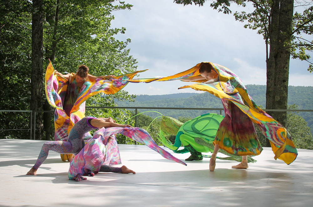 Jacob's Pillow Inside/Out Festival, Becket MA. Photo by Sara Kiter