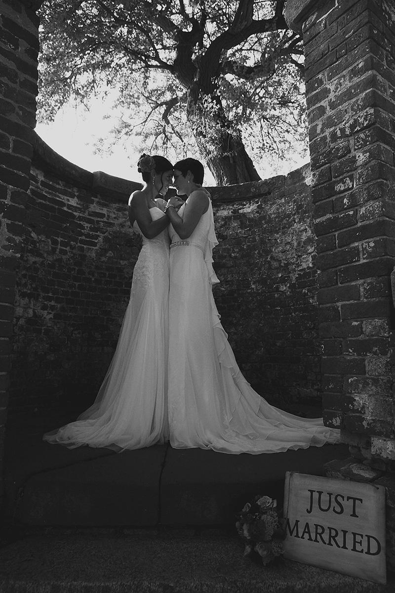 Richmond VA Lesbian Wedding Photography