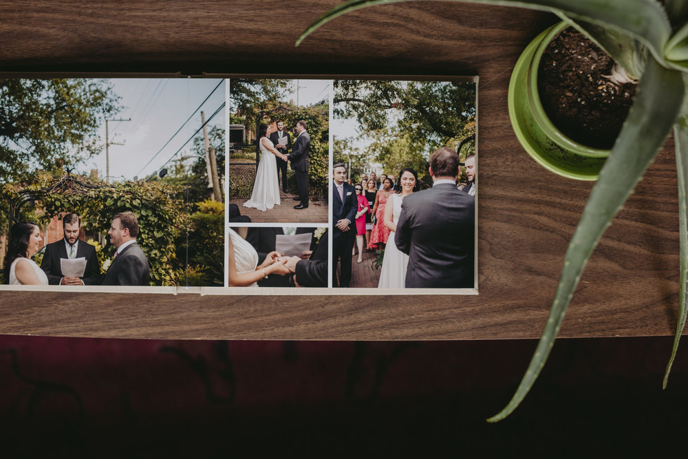 Feminist Wedding Photography Carly Romeo Photography Richmond VA Album Redtree