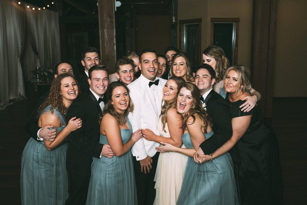 New Year's Eve Feminist Brazilian Wedding Photography Seattle Washington Carly Romeo Photography Richmond VA Wedding Party NYE Tuxedo Club