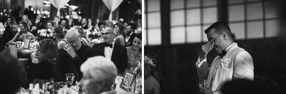 New Year's Eve Feminist Brazilian Wedding Photography Seattle Washington Carly Romeo Photography Richmond VA Toasts Tears Black and White