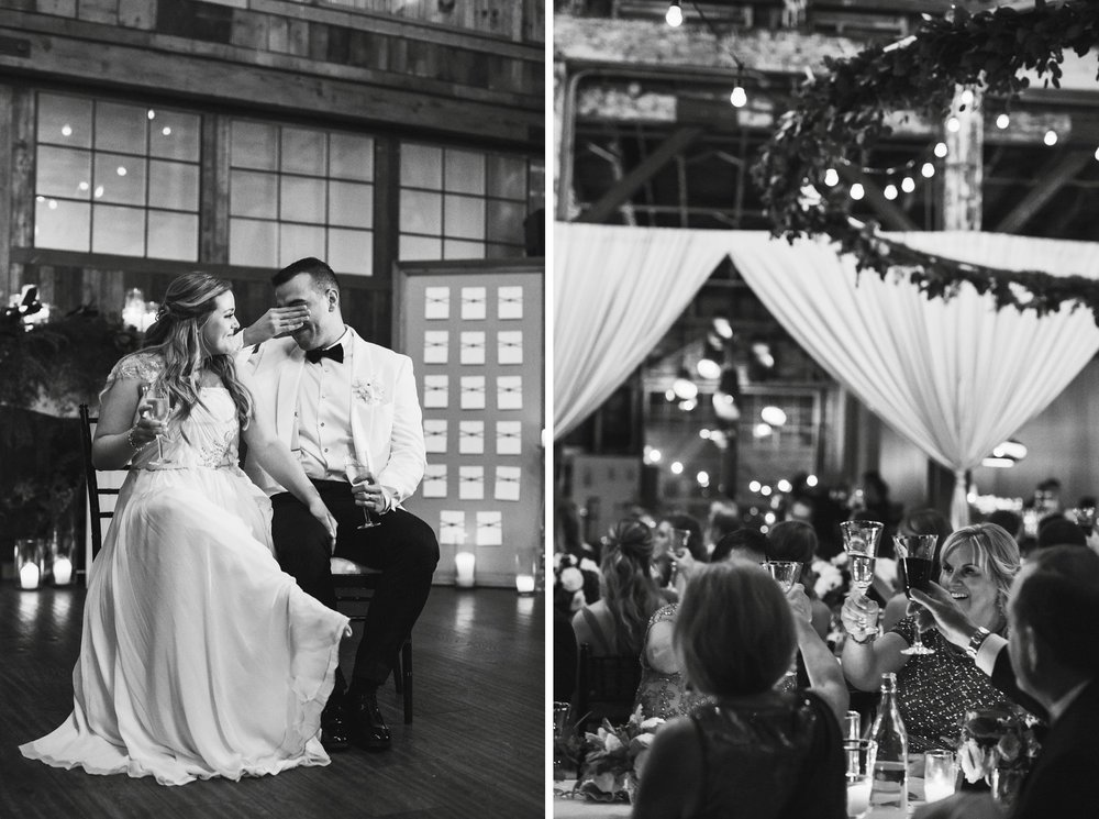 New Year's Eve Feminist Brazilian Wedding Photography Seattle Washington Carly Romeo Photography Richmond VA Laughing Crying Toasts