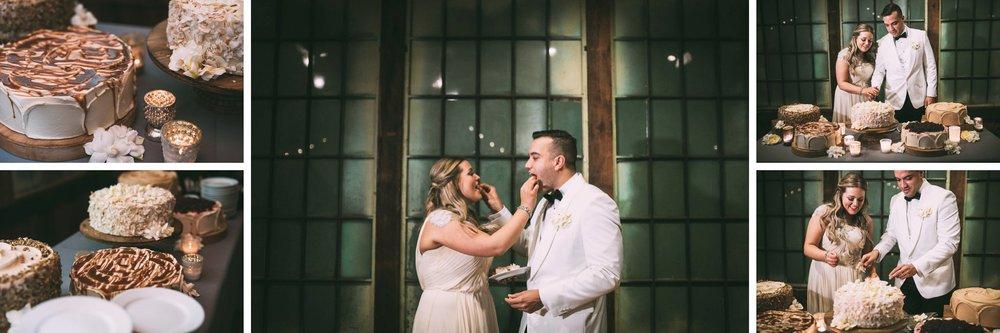 New Year's Eve Feminist Brazilian Wedding Photography Seattle Washington Carly Romeo Photography Richmond VA Cake Eating
