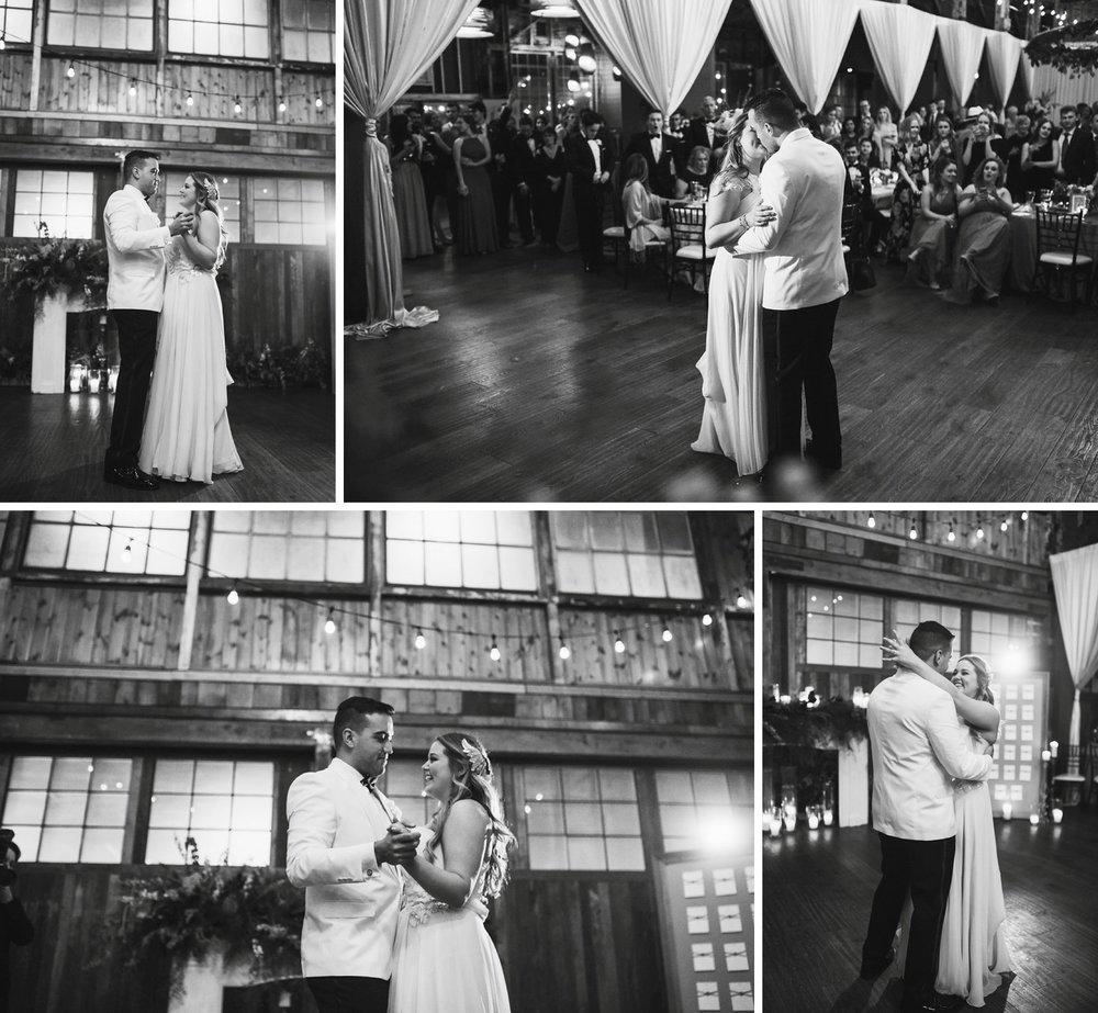 New Year's Eve Feminist Brazilian Wedding Photography Seattle Washington Carly Romeo Photography Richmond VA First Dance Reception Venue