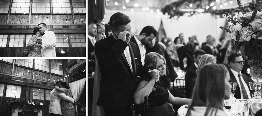 New Year's Eve Feminist Brazilian Wedding Photography Seattle Washington Carly Romeo Photography Richmond VA Mother Son Dance Reception