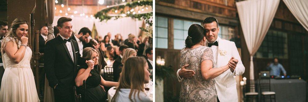 New Year's Eve Feminist Brazilian Wedding Photography Seattle Washington Carly Romeo Photography Richmond VA Reception Venue Tears Father Son Dance