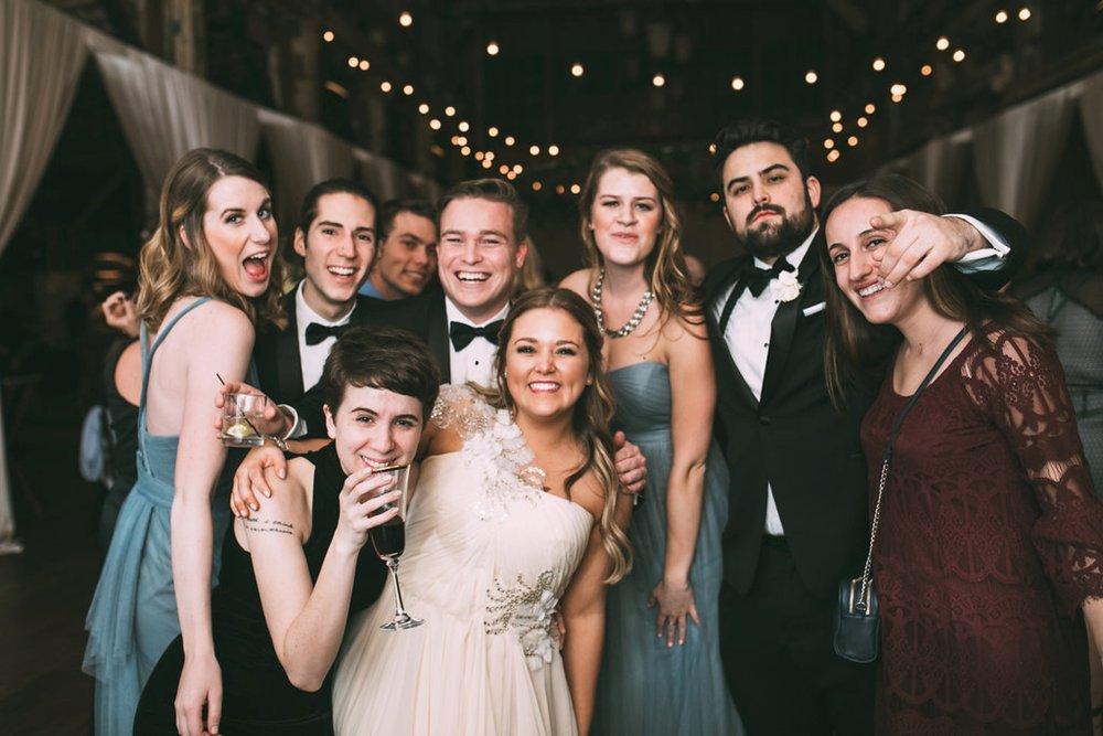 New Year's Eve Feminist Brazilian Wedding Photography Seattle Washington Carly Romeo Photography Richmond VA Reception Dancing Friends