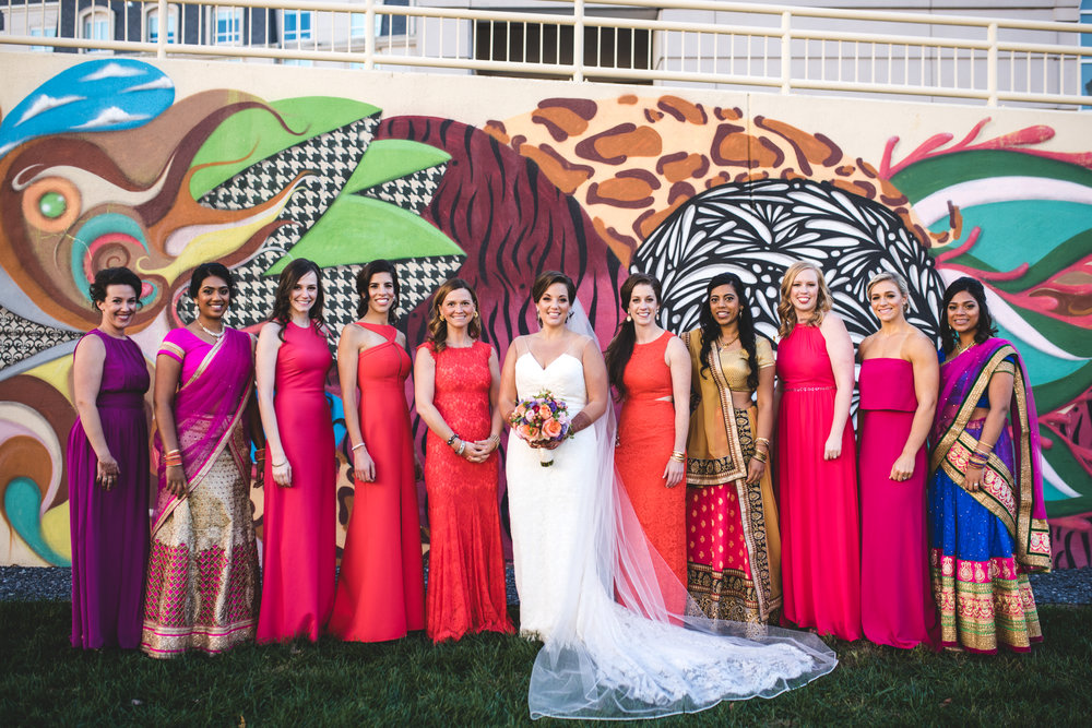 Carly Romeo and Co - Wedding Party Unique Ideas - Traditional Indian Wedding Saris.JPG