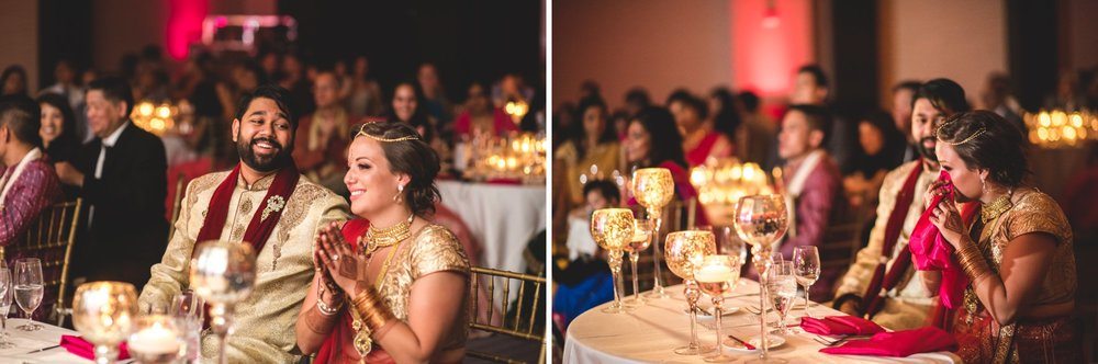 Washington DC colorful Indian wedding with a feminist bride. Reception.